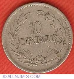 Imaginea #2 a 10 Centavos 1919