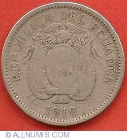 Imaginea #1 a 10 Centavos 1919