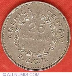 25 Centimos 1976