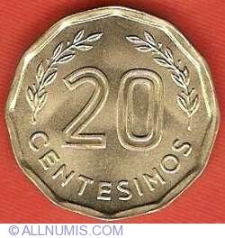 Image #2 of 20 Centesimos 1981