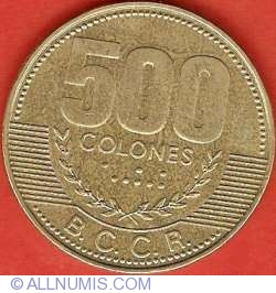 Image #1 of 500 Colones 2003