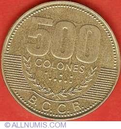Imaginea #1 a 500 Colones 2003