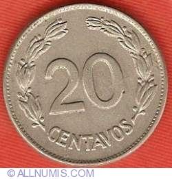 Imaginea #2 a 20 centavos 1946