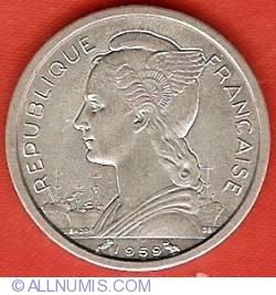 Imaginea #1 a 1 Franc 1959