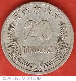 20 Qindarka 1964