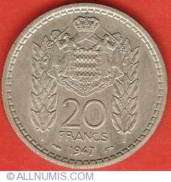 Imaginea #2 a 20 Francs 1947
