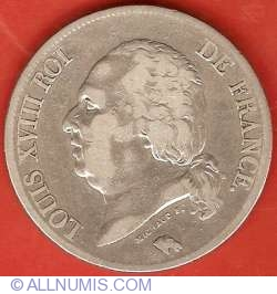 Image #1 of 5 Francs 1824 A