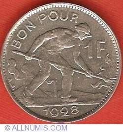 Imaginea #2 a 1 Franc 1928