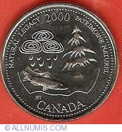 Image #2 of 25 Cents 2000 - Natural legacy