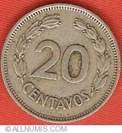 Imaginea #2 a 20 centavos 1974