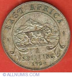 Image #2 of 1 Shilling 1924