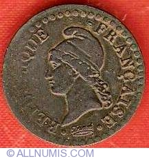 Image #1 of 1 Centime 1797