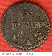 Imaginea #2 a 1 Centime 1797