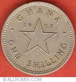 Image #2 of 1 Shilling 1958
