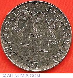 Imaginea #1 a 100 Lire 1972