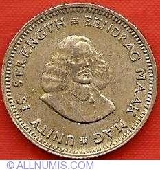 Image #1 of 5 Cents 1961 Van Riebeeck