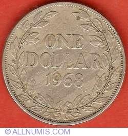 Image #2 of 1 Dollar 1968