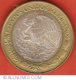 Image #1 of 100 Pesos 2003 - Tlaxcala - 180th Anniversary of Federation