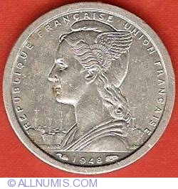 Image #1 of 1 Franc 1948