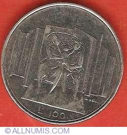 Imaginea #2 a 100 Lire 1976