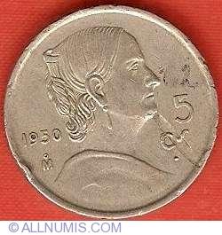 Image #2 of 5 Centavos 1950