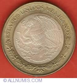 Image #1 of 100 Pesos 2004 - Tabasco - 180th Anniversary of Federation