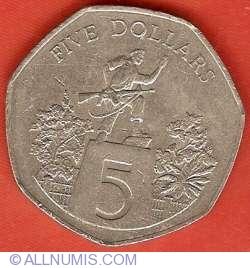 Image #2 of 5 Dollars 1982
