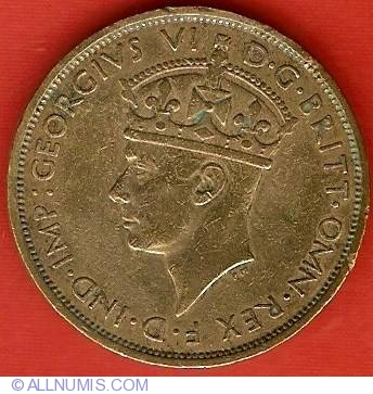 1938 2 shilling coin