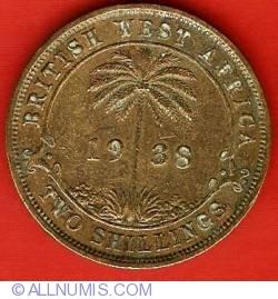 Imaginea #2 a 2 Shillings 1938
