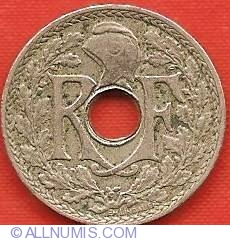 Image #1 of 5 Centimes 1919