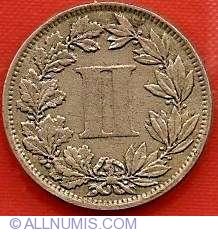 Image #2 of 2 Centavos 1882