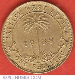 Imaginea #2 a 1 Shilling 1938