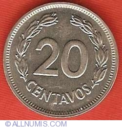 Imaginea #2 a 20 Centavos 1978