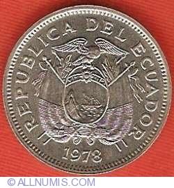 Imaginea #1 a 20 Centavos 1978
