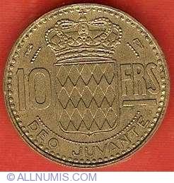 Imaginea #2 a 10 Franci 1951