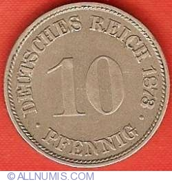 Image #1 of 10 Pfennig 1873 C