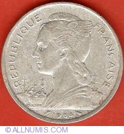 Imaginea #1 a 5 Franci 1964