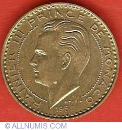 Imaginea #1 a 20 Franci 1951