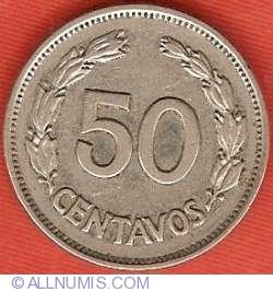 Imaginea #2 a 50 Centavos 1963