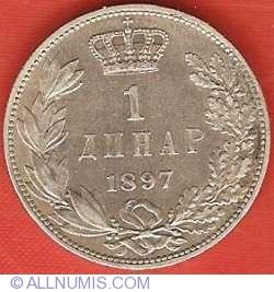 Imaginea #2 a 1 Dinar 1897