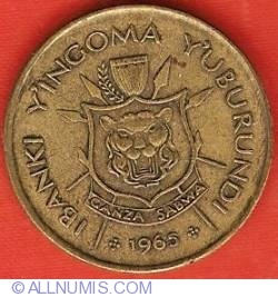 Image #1 of 1 Franc 1965