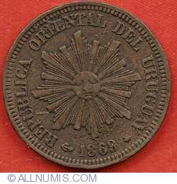Image #1 of 2 Centesimos 1869