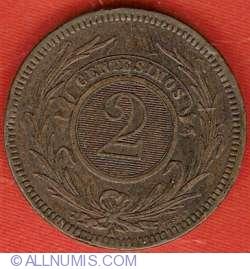 Image #2 of 2 Centesimos 1869