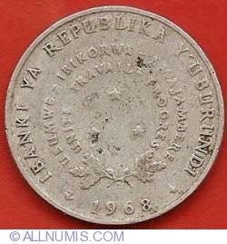 Image #1 of 5 Francs 1968