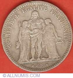 Imaginea #1 a 5 Franci 1849 A
