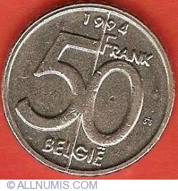 Image #2 of 50 Francs 1994 (Belgie)
