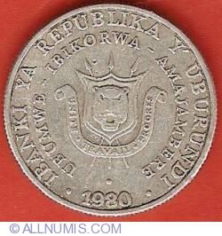 Image #1 of 5 Francs 1980