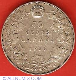 Image #2 of 50 Cents 1913