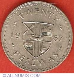 Image #2 of 20 Pesewas 1967