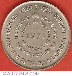 Image #1 of 10 Francs 1971 - F.A.O.